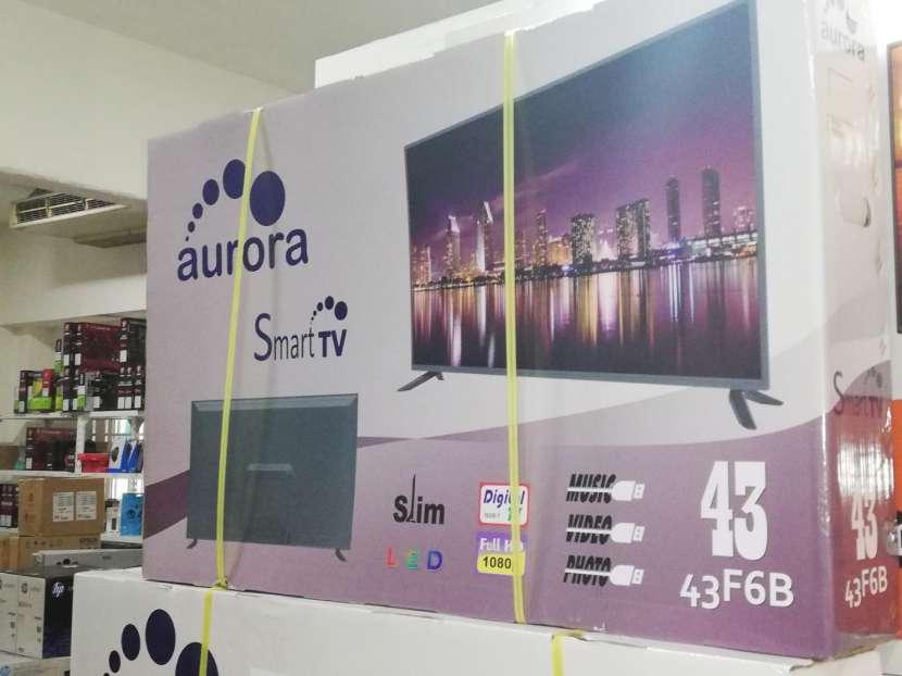 TV Aurora 43 pulgadas Full HD Smart - 0