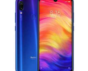 Xiaomi Redmi Note 7 de 64 gb color azul