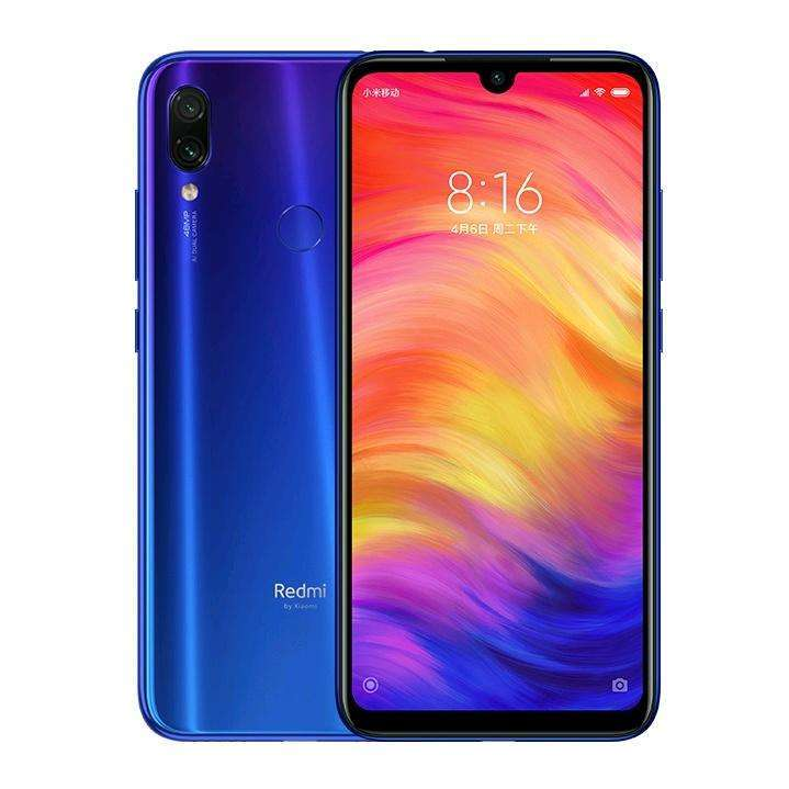 Xiaomi Redmi Note 7 de 64 gb color azul - 0