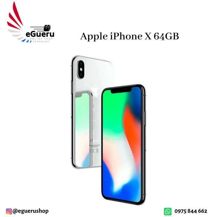 Apple iPhone X de 64 GB - Nuevo Lacrado 12 meses de garantia - 0