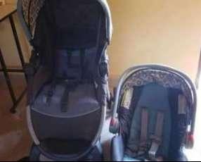Carrito y baby seat para auto Graco
