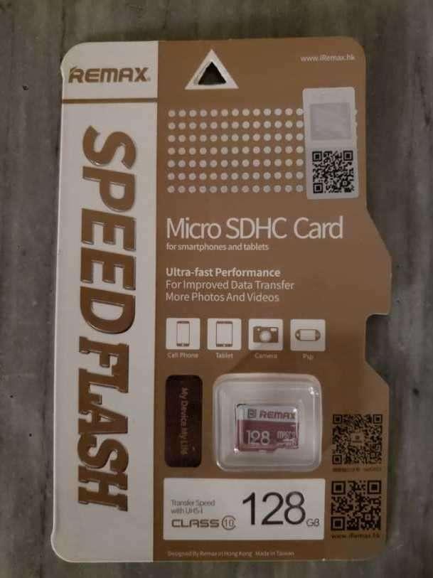 Tarjeta micro SDHC de 128 GB - 0