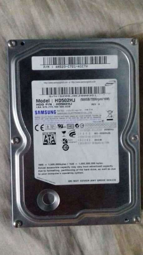 Disco Duro Samsung de 500 gb - 0