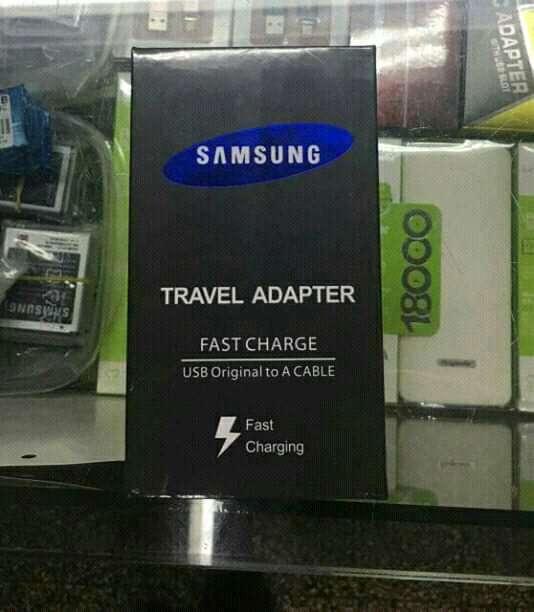 Cargador de carga rápida Samsung tipo C - 0
