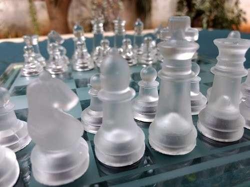Juego de Ajedrez de Cristal - 3
