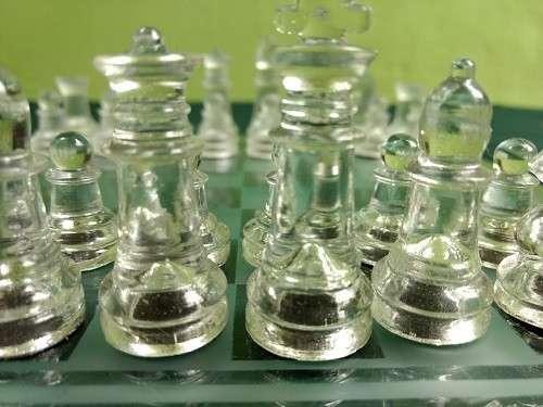 Juego de Ajedrez de Cristal - 2
