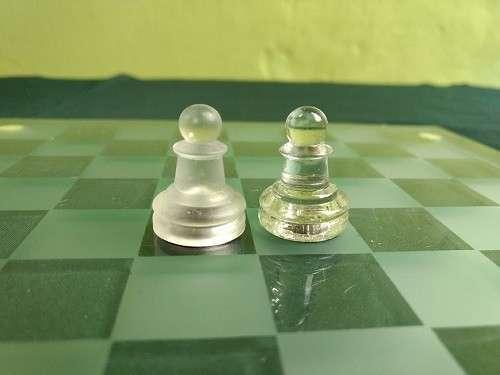 Juego de Ajedrez de Cristal - 8