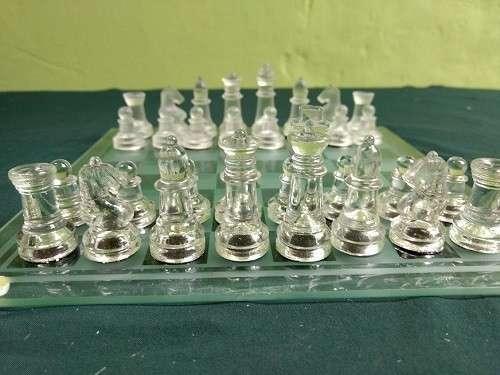 Juego de Ajedrez de Cristal - 1