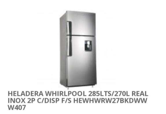 Heladera Whirlpool - 0