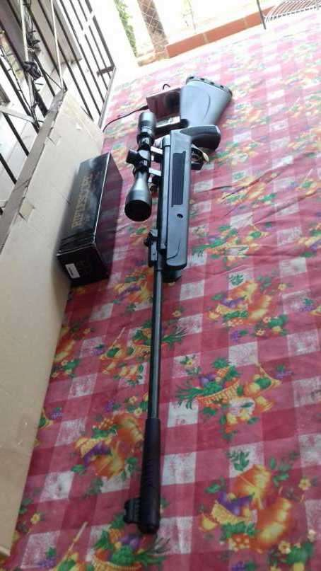Rifle de aire comprimido 5.5