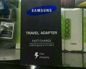 Cargador de carga rápida Samsung tipo C