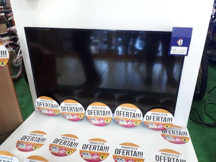 TV LED AOC de 40 pulgadas FHD - 0
