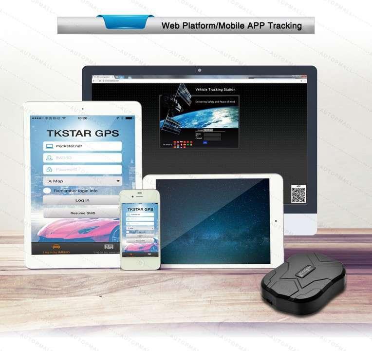 GPS Rastreo a SIM Card TK905 - 2