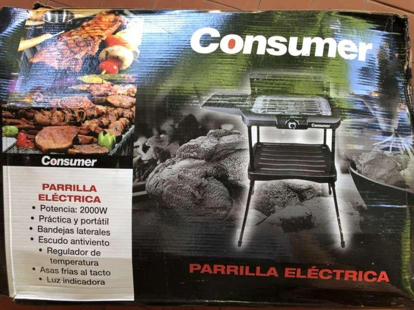 Parrilla eléctrica Consumer - 1