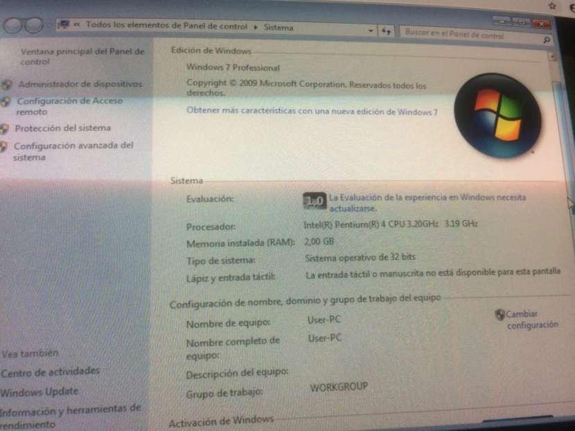 CPU HP Compac dc7100 (Solo PC) - 0