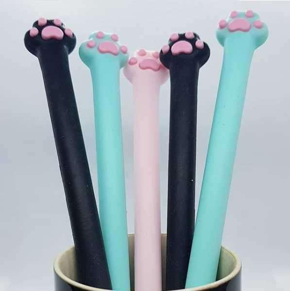 Bolígrafos Gato Patitas en varios colores - 0