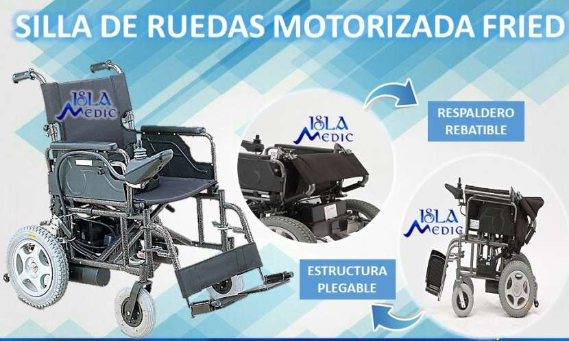 Silla de ruedas motorizada estándar - 0