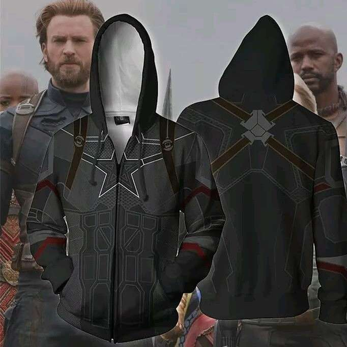 Campera Capitán América Avengers - 0