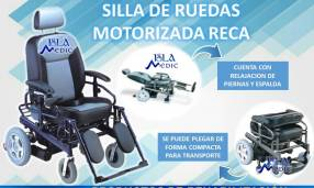 Silla de ruedas motorizada neurológica