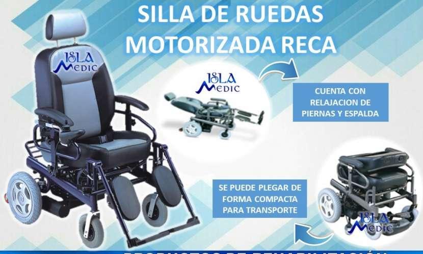 Silla de ruedas motorizada neurológica - 0