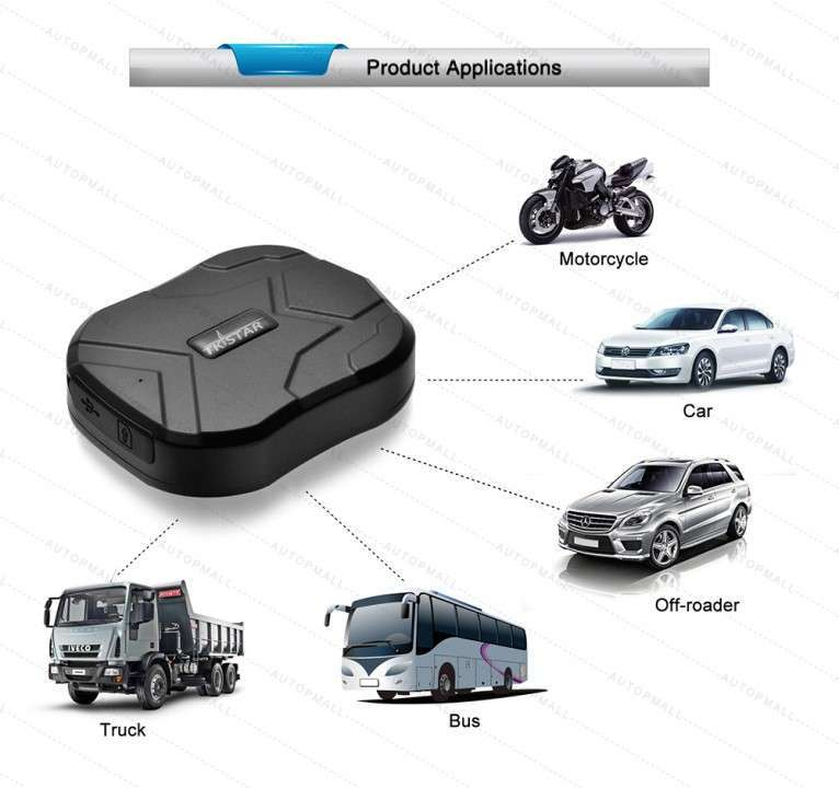 GPS Rastreo a SIM Card TK905 - 6