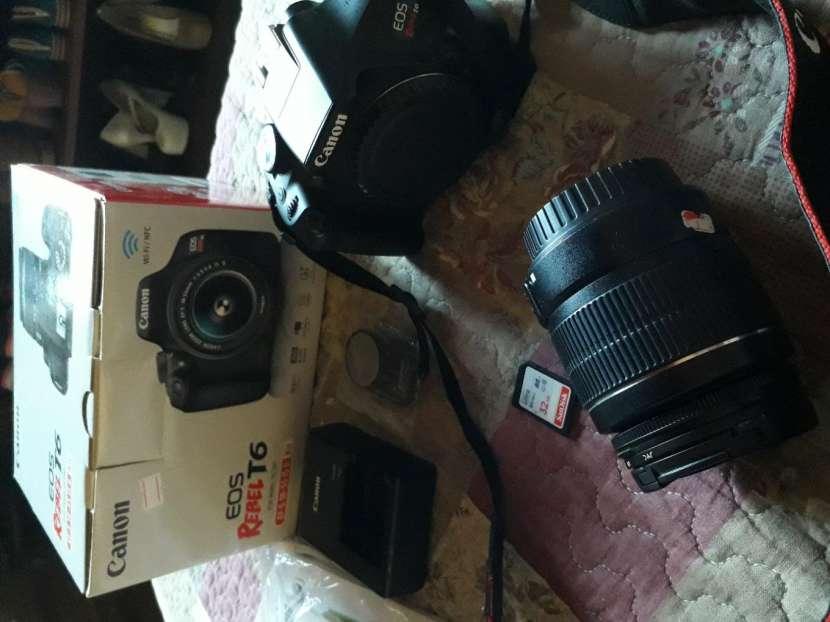 Cámara Canon EOS Rebel T6 - 0
