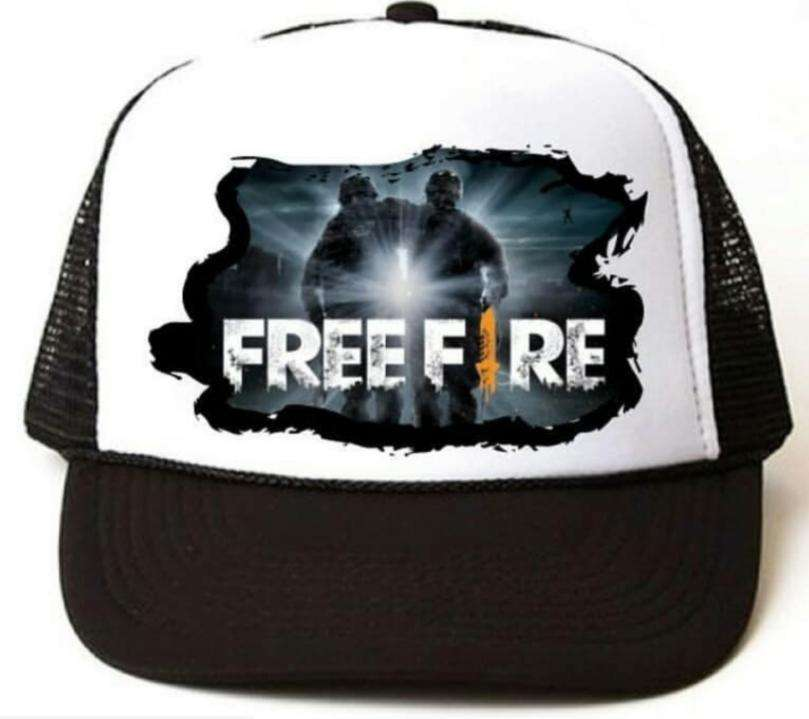 Remeras free fire 100% algodón - 1
