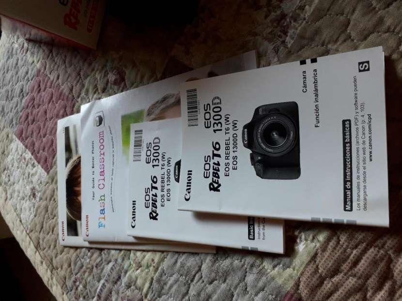 Cámara Canon EOS Rebel T6 - 1