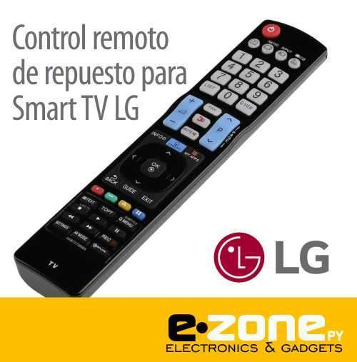 Control remoto de repuesto para smart tv LG - 0