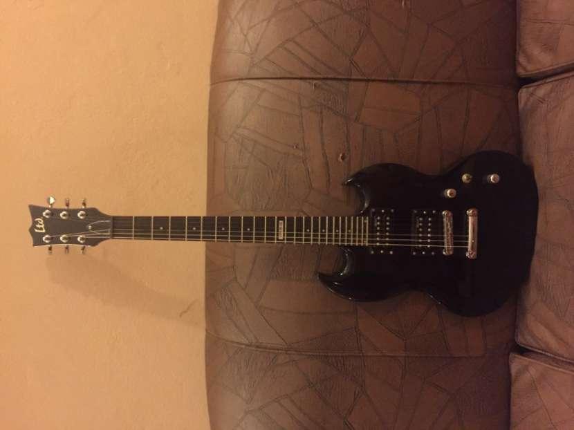 Guitarra electrica LTD con Amplificador Orange de 120w - 1