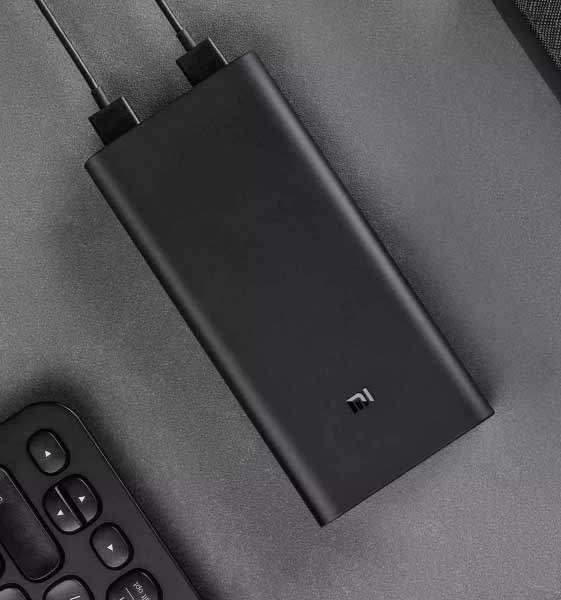 Cargador Portátil Xiaomi Power Bank 2 - 20.000 MAH - 3