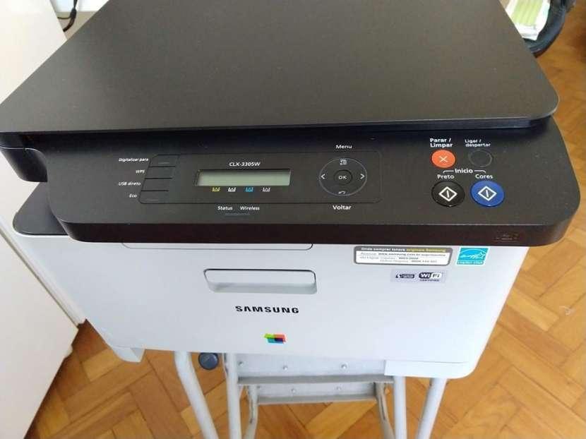 Impresora Multifuncion Láser Color Samsung CLX-3305 - 1