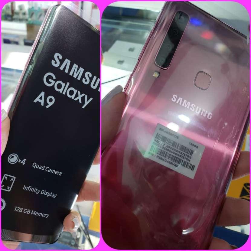 Samsung Galaxy A9 2018 rosa nuevo