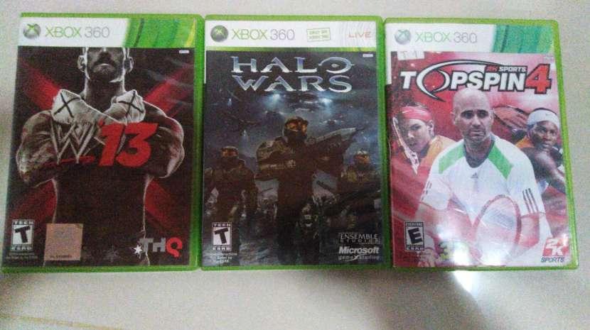 WWE 13 Halo Wars y Topspin 4 para Xbox 360