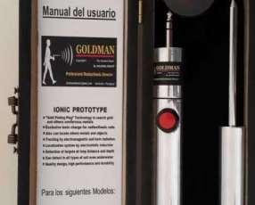 Detector radiestésico Goldman Ionic 2