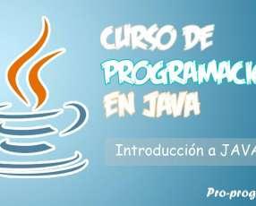Curso de programacion en java