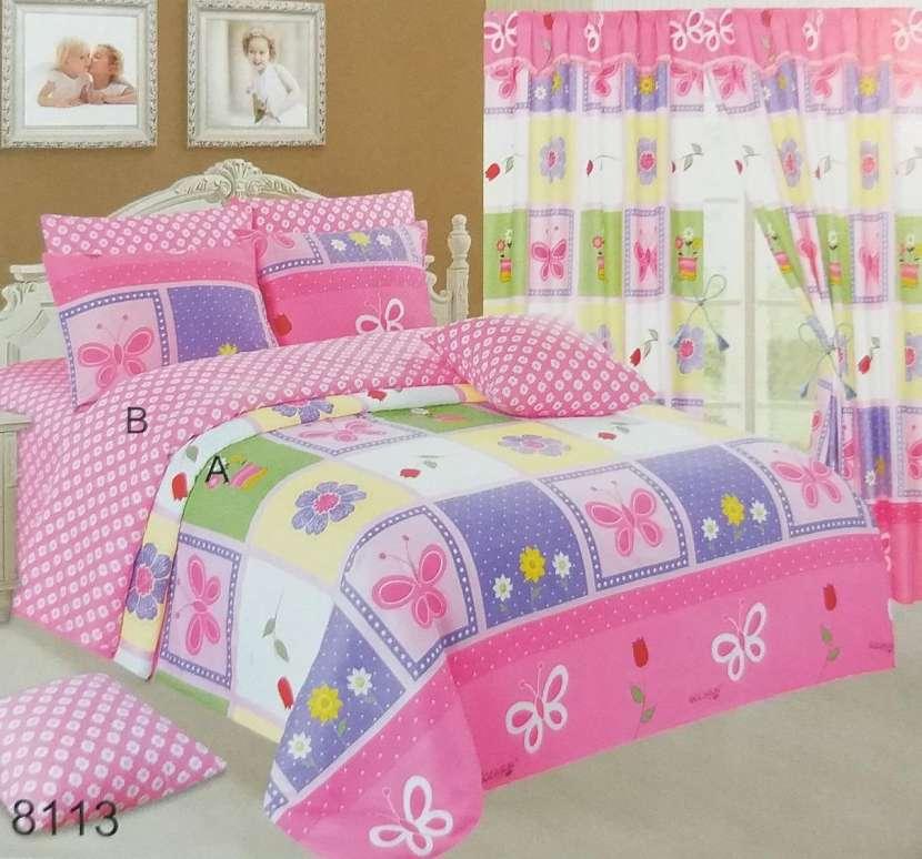 kit 7 piezas para cama 140x2