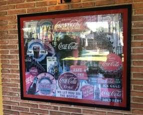 Cuadro de rompecabezas de Coca Cola