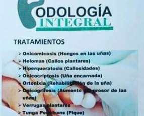 Podología integral