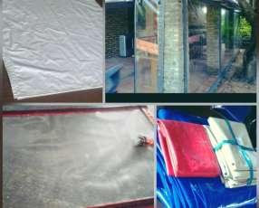 Carpas cortinas cobertores de lonas
