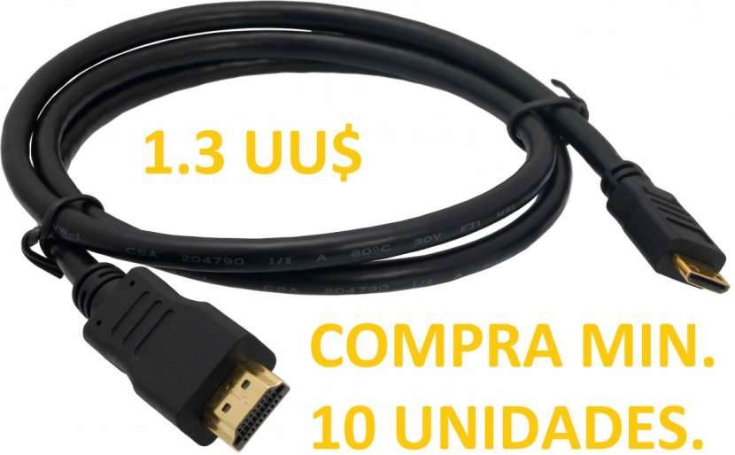 Cable HDMI 1.3 metros