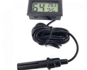 Medidor de humedad y temperatura digital LCD