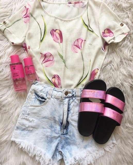Zapatilla pink rosa tamaño pequeño - 0