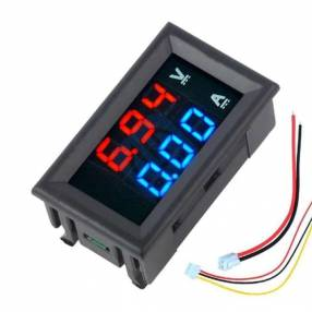 Voltímetro Amperímetro Digital LED