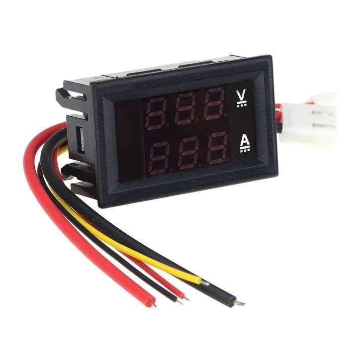 Voltímetro Amperímetro Digital LED - 3
