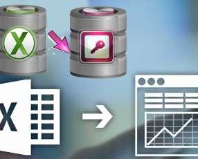 Servicios de ayuda con el Excel o Access