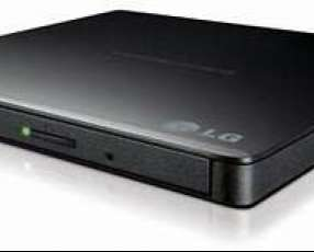 Grabadora y unidad de DVD portátil ultradelgada LG