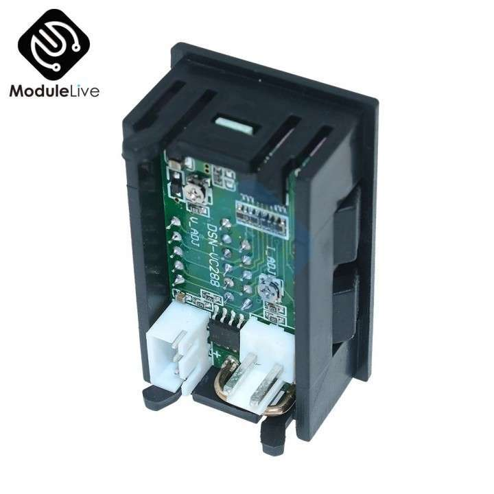 Voltímetro Amperímetro Digital LED - 2