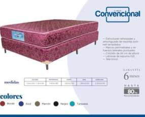 Sommier completo 1.40 x 1.90