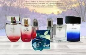 Perfumes de PMG a créditos y contados